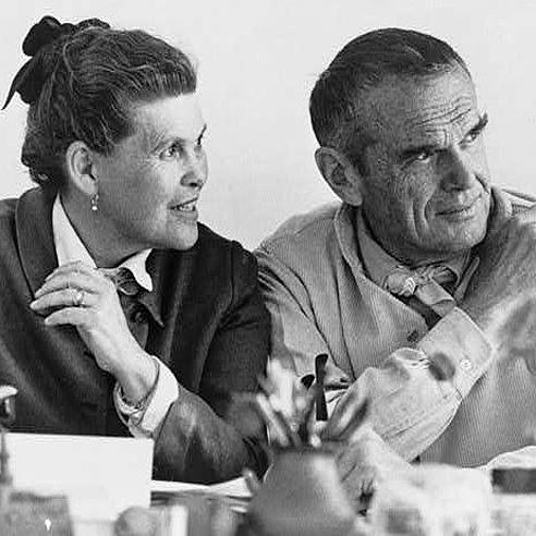 Carles og Ray Eames