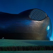 Ordos Museum. Copyright All rights reserved by spiky247