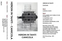 Heroin In Tahiti - Canicola - NO FI Recordings